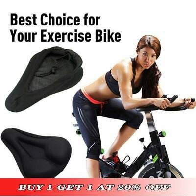 3D Bike Seat Bicycle Saddle Bike Seat Cushion Foam Seat For Exercise Thickened· • 5.99£