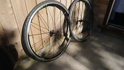 Shimano RS11 Front/Rear Wheels 700c Clinchers Continental Gatorskin Tyres • 8.50£
