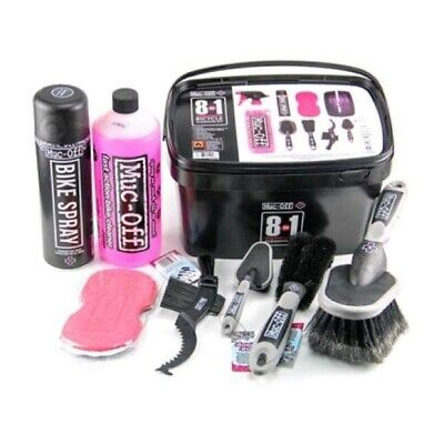 Muc-Off 8 In 1 Cleaning Kit Road MTB Mountain Bike Cycling Cleaning Kit • 34.95£