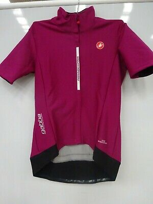 Castelli Womens Gabba 2 Red XL M ELECTRIC MAGENTA $ • 3.20£