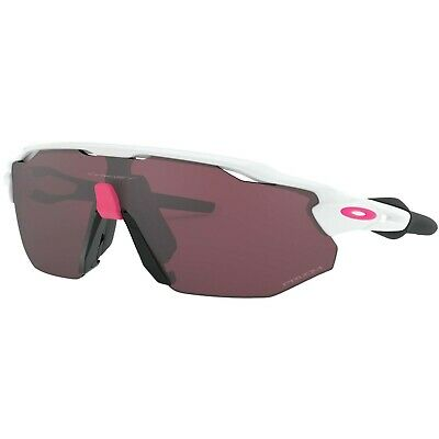 Oakley Radar EV Advancer Polished White Prizm Road Black ONE SIZE ] • 59£
