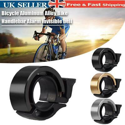 Bicycle Bell Aluminum Alloy Bike Bell MTB Handlebar Alarm Ring Invisible Q Bell • 4.99£