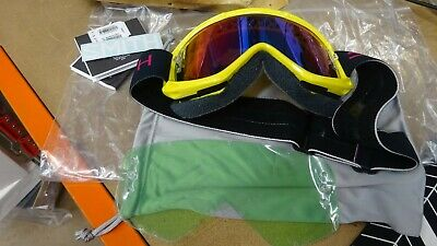 Smith Fuel Max M Goggles Green Mirror Lens ONE SIZE CITRON + • 5.50£