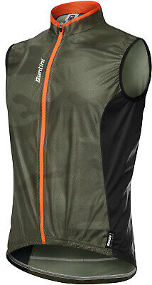 Santini Fine Cycling Vest - NEW - Green - SRP £55 • 33£