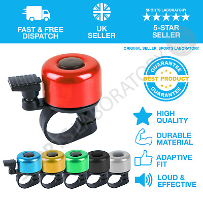 Premium Cycling Bike Bicycle Bell Ring Loud Horn Safety Sound Alarm New BT • 6.99£