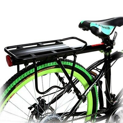 Durable Rear Bicycle Pannier Rack Carrier Bag Luggage Cycle Mountain Bike UK • 12.35£
