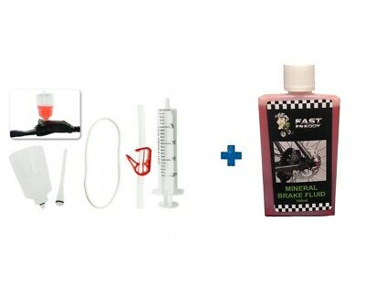 Hydraulic Brake Bleed Kit - Fast Freddy - Shimano - With Mineral Oil Available • 12.99£