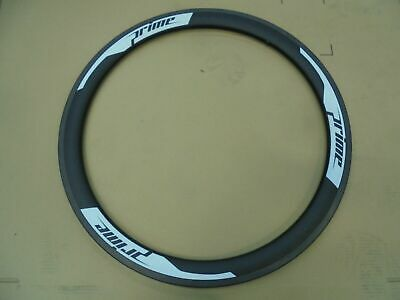 Prime CC-38 Clincher Road Rim - 700c - 20 Holes - Black / White • 135£