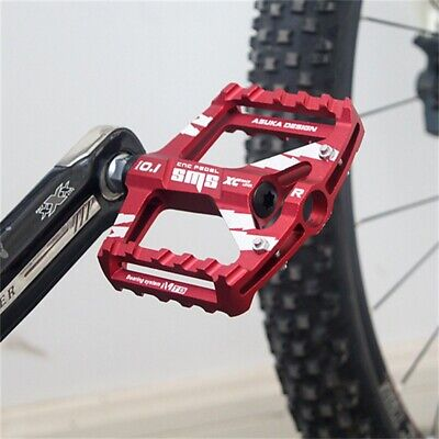 NEW Mountain Road Bike Aluminum Alloy MTB Pedals Flat Platform Bicycle Pedal UK • 18.99£
