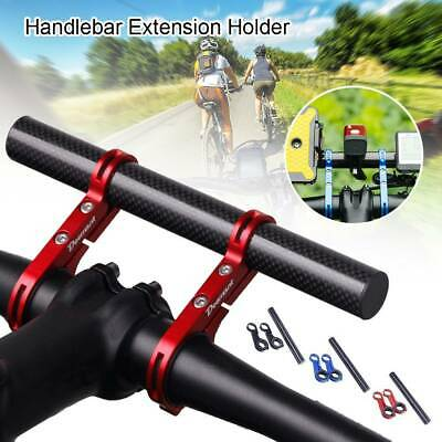 Handlebar Extension Mount Bicycle MTB Bike Handle Bar Bracket Extender Holder UK • 6.63£