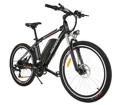 Electric Bike - Ancheer 2019 Upgraded Electric Mountain Bike PRO • 699£