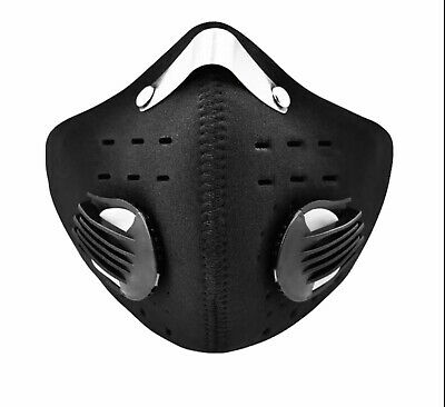 Cycling Face Filter Cover Pm2 Filter Neoprene U.k. Stock Same Day Dispatch  • 7.95£