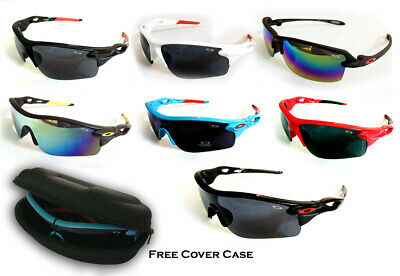 Men Women Cycling Glasses Outdoor Sport Mountain Bike With Protective Case Free • 7.99£