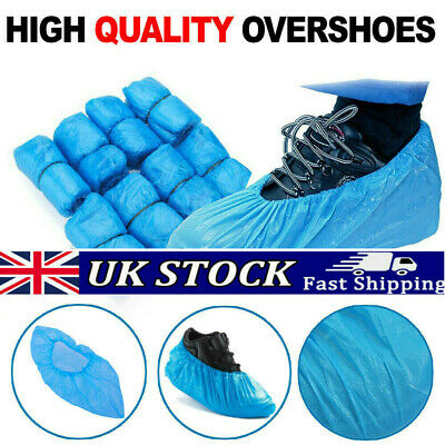1000X Disposable Shoe Cover Cleaning Overshoes Homes Overshoes Boot Safety UK • 20.99£