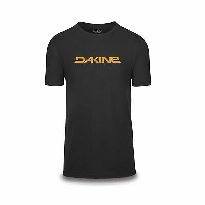 Dakine Bike Da Rail Short Sleeve Tech T-Shirt Black Yellow Medium • 23.95£