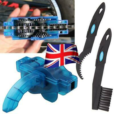 Bicycle Chain Cleaner Bike Maintenance Tools Lubrication Cleaning Wheel Wash • 5.65£