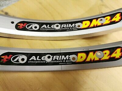 Pair Of Old Mid School BMX Alex DM24 20  Rims 36 Hole Alloy NOS • 59£
