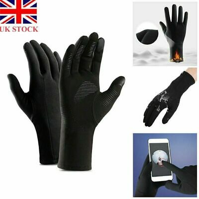 Winter Warm Windproof Waterproof Anti-slip Thermal Touch Screen Bike Ski Gloves • 5.29£