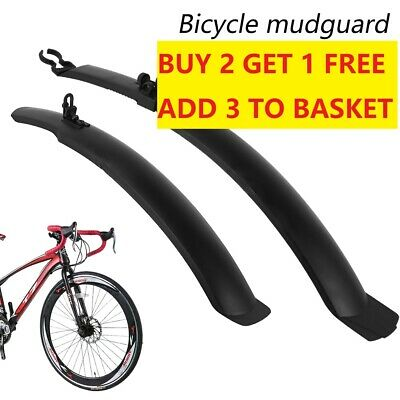Front/Rear Mud Guards Mudguard Fenders Mountain Bicycle Bike Cycling Quality Set • 7.59£