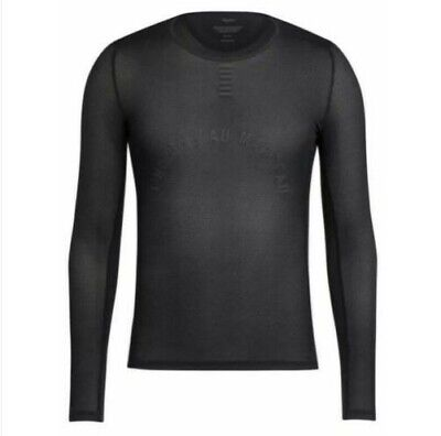 Rapha Pro Team Mens Base Layer - Long Sleeve - Black - Size M - BNWT • 42.90£