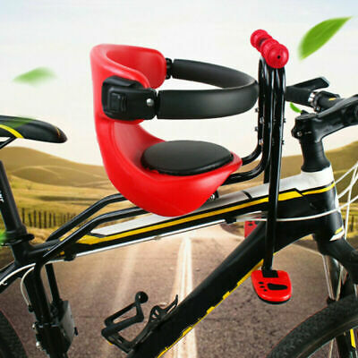 Child Kids Bicycle Bike Seat Front Carrier Seat Safety Stable Children Chair UK • 20.49£