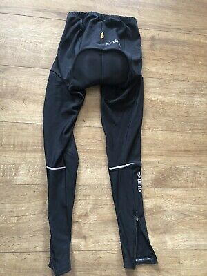 Womens Dhb Cycling Thermal Waist Tights Size 10  • 3.40£
