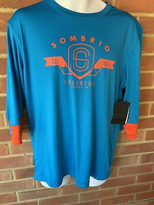 Sombrio Disiple Mtb Freeride Cycling Top, Jersey, Shirt. Large.  New. Free P&p • 17.99£