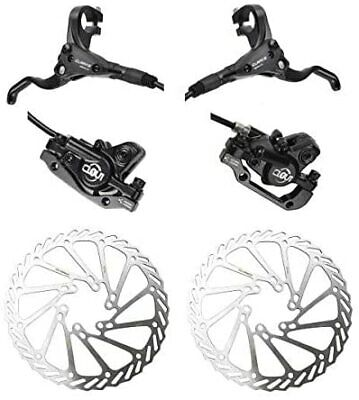 Bicycle Disc Brake System Clarks CLOUT 160mm Set Front And Rear • 39.99£