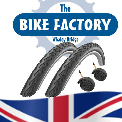 Schwalbe Land Cruiser 26x1.75Tyres (Pair) - Tubes Option - FAST SHIPPING ! • 24.99£