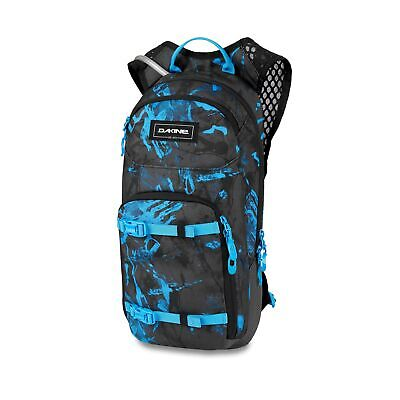 Dakine Session 8 Litre Back Pack With Hydrapak Reservoir Cyan Scribble • 49.95£
