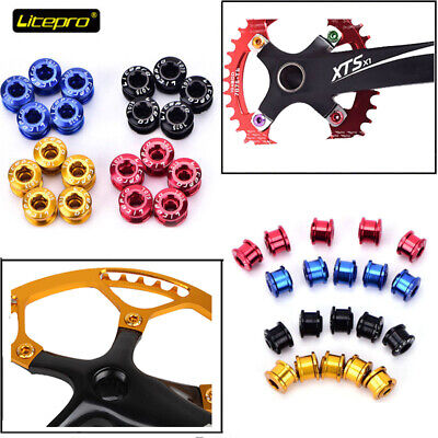 Snail 104BCD 32-42T Bike Chainring & 5 BOLTS Round Oval Narrow Wide Chain Ring • 12.99£