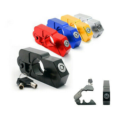 Motorcycle Grip Lock Handlebar Throttle Motorbike Bike Brake Heavy Duty Security • 13.99£