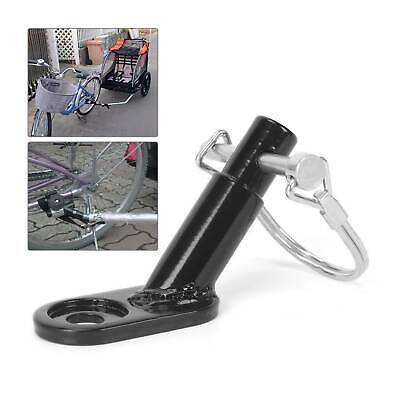 Bike Bicycle Trailer Coupler Attachment Hitch Angled Elbow For InStep Schwinn UK • 5.49£