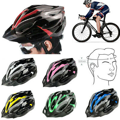 Protective Mens Adult Road Cycling Safety Helmet MTB Mountain Bike/Bicycle • 9.89£