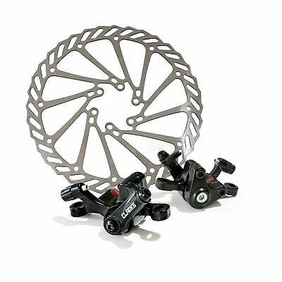 Clarks CMD-21 Lightweight MTB/Hybrid Mechanical Disc Brake Set Front & Rear 160 • 14.99£