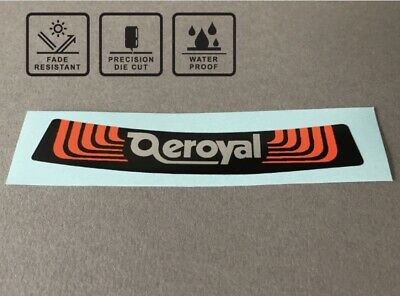 Aeroyal Old School BMX 80's Seat Decal Sticker Saddle • 4.55£
