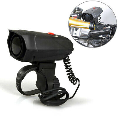 110dB Cycling Battery Powered Durable Safety Black Riding Loud Bike Horn • 7.89£