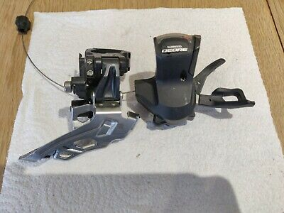 Shimano Deore Front Derailleur And Shifter For A 2x Or 3x • 4.20£