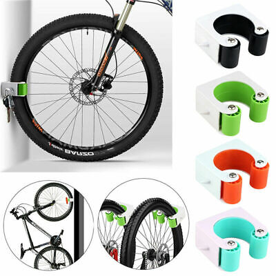 Bicycle Bike Wall Mount Hook Parking Rack Road MTB Bike Buckle Stand Holder UK • 9.45£