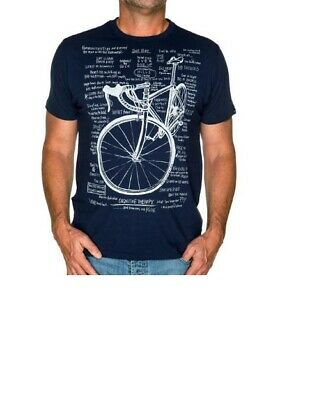 Cycology Cognitive Therapy T-Shirt MEDIUM  NAVY - • 11.50£