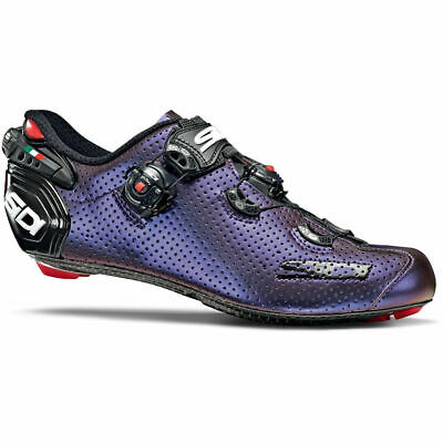 Sidi Wire 2 Carbon Air Road Shoes Size - EU 46.5 BLUE/RED IRIDESCENT < • 101£