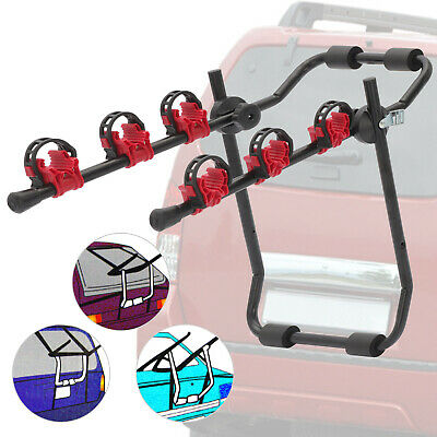3 Bicycle Bike Car Cycle Carrier Rack Universal Fitting Saloon Hatchback Estate • 22.89£