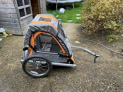 Halfords 155393 Double Buggy Child Bike Trailer • 23.50£