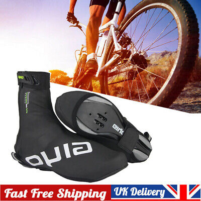 Waterproof Cycling Shoe Covers Shoes Cover MTB Road Bike Overshoes Warm • 12.59£