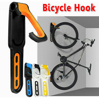 Indoor Bike Rack Wall Mount Garage Bicycle Storage Hanger Hook MTB Holder Shelf • 12.59£