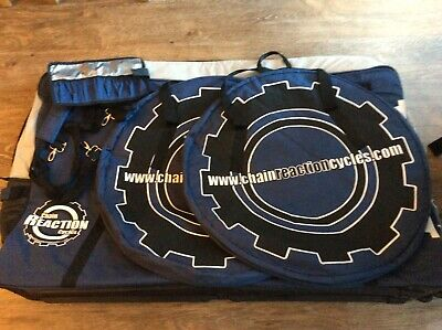 Chain Reaction Cycles Travel Bag With Wheel Bags,blue Used Couple Times. • 30£