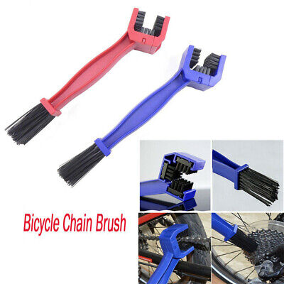 Motorcycle Bike Bicycle Motocross Chain Wheel Cleaning Brush Motorbike Cleaner • 3.59£