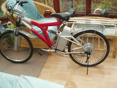 Electric Bike 500w 5 Speed 24  Wheels  Full Suspension    Used  • 110£