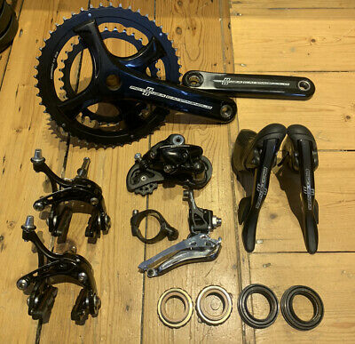 Campagnolo Potenza 11-speed Full Groupset - Black  • 425£