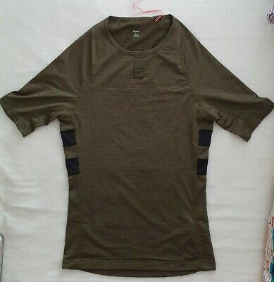 BNWT Rapha Brevet Base Layer Olive Green Size Small S Road Gravel Cycling  • 35£